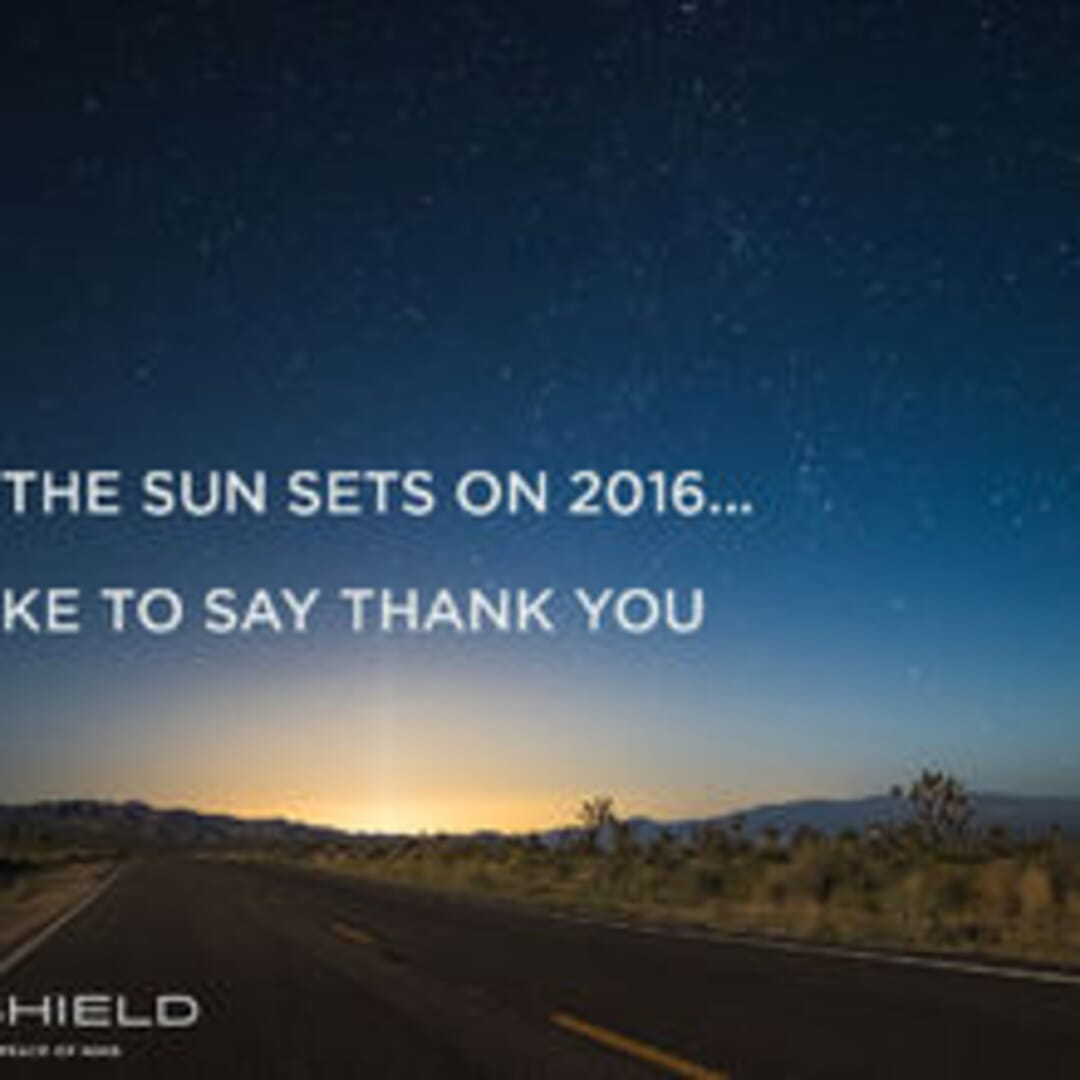 A NOTE OF THANKS FROM ARMASHIELD