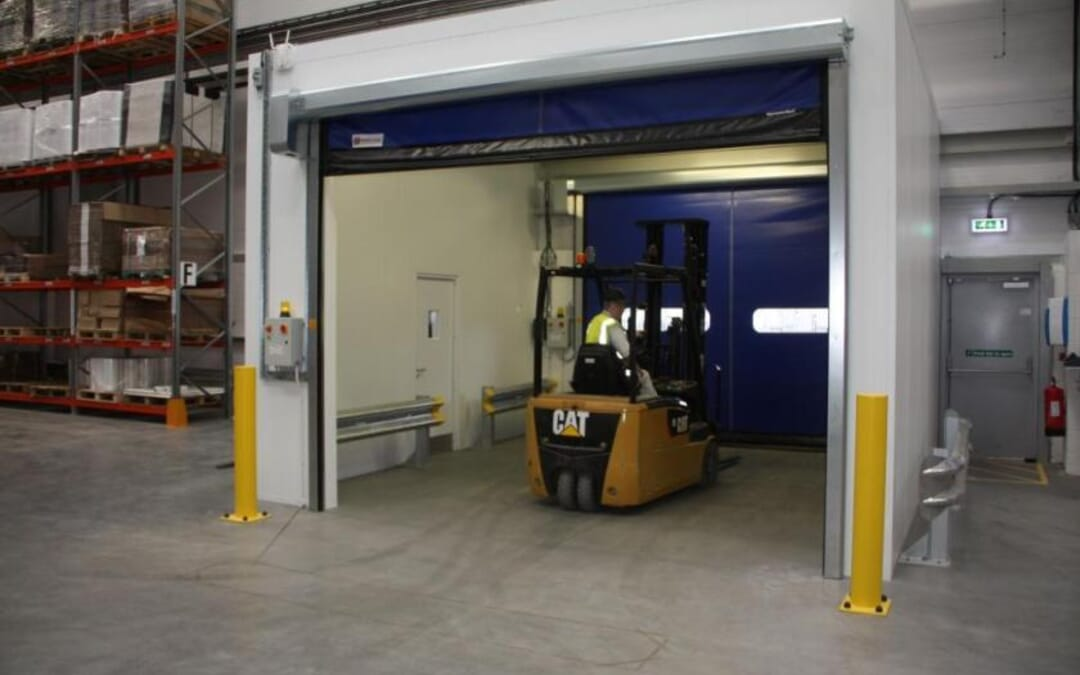 RAPIDOR SPEED DOORS FOR WRIGHT'S NEW FACTORY