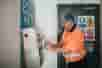 Clarisafe automatic hand sanitisation in use in food factory