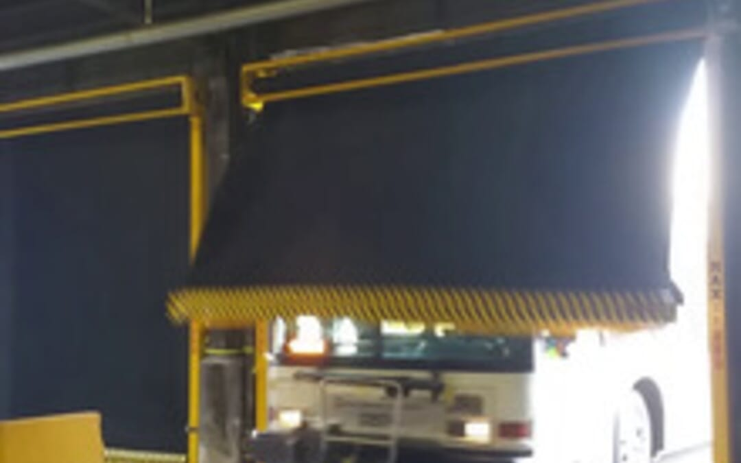 New Video – Bus hits Maxspeed door!