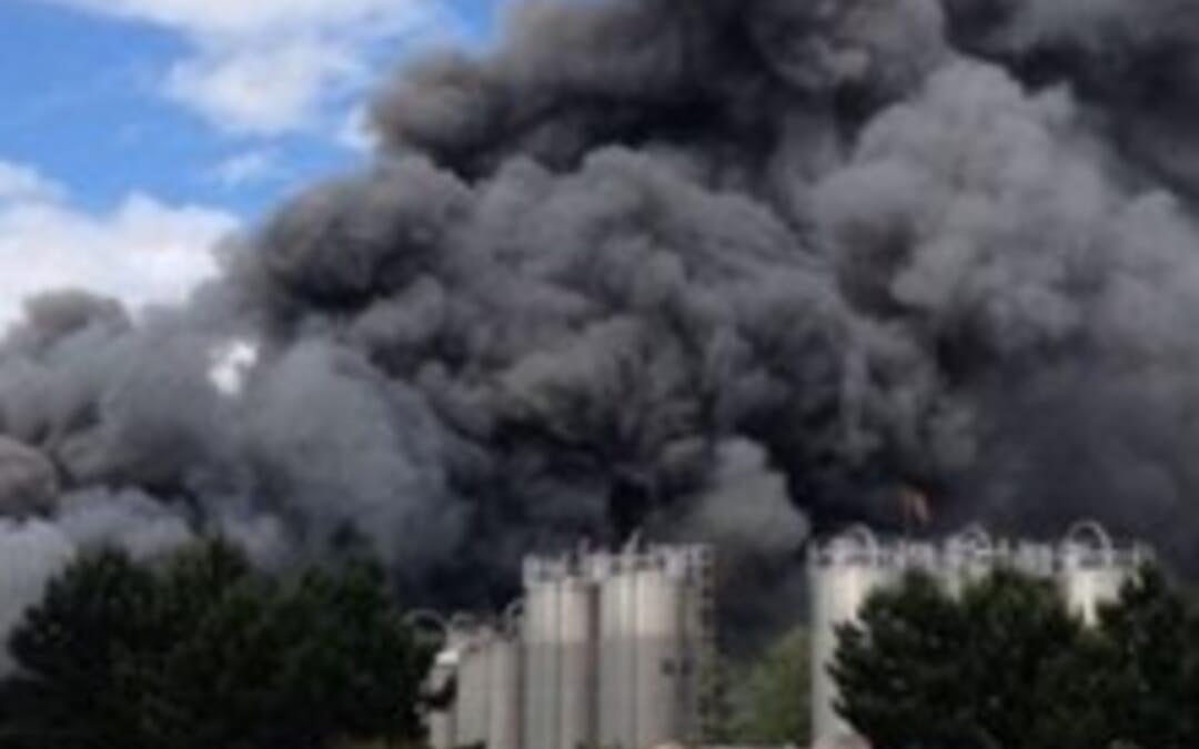 Morrisons bakery blaze severely damages site